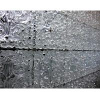 Wholesale Crystal Cast Custom Decorative Glass Wall Decoration for Hotel and Club from china suppliers