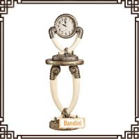 Wholesale Home Decorating Quartz polyresin Floor Stand Antique Clock BP727BY+857BY from china suppliers