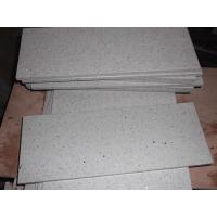 Wholesale Pure gray polishing Solid Surface Quartz Stone Tiles for kitchen from china suppliers