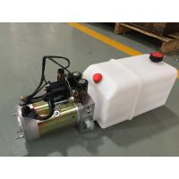 Wholesale High Performance  Dump Trailer Micro Hydraulic Power Packs With 8L Plastic Oil Tank from china suppliers