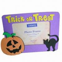 Wholesale Halloween Photo Frame, Made of Eco-friendly EVA Foam, ODM and OEM Orders are Welcome from china suppliers