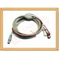 Wholesale Medical Hellige ECG Trunk Cable , ECG Snap Connector With TPU Material from china suppliers
