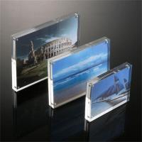 magnetic clear acrylic photo picture frame perspex picture holder of item 106072595. Black Bedroom Furniture Sets. Home Design Ideas