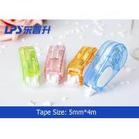 Colored Correction Tape Set In Plastic Box Student Correct Supplies
