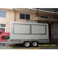 Wholesale Grp Seychelles Mobile Food Trailers White Portable Hot Dog Cart from china suppliers