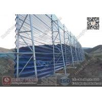 Quality HESLY Wind & Dust Suppressing Barrier System for Coal Yard | China Wind Barrier Exporter for sale