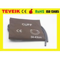 Wholesale Popular sale Nylon material double hose Large adult NIBP cuff from china suppliers