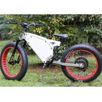 Wholesale Electric Fat Tire Mountain Bike With Electric Hub Motor , Fat Tire Motorized Bicycles from china suppliers