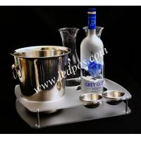 Wholesale Grey Goose Bucket & Bottle Serving Tray from china suppliers