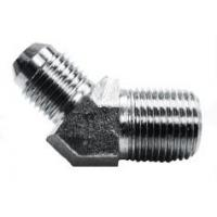 Wholesale Parker's P/N VTX Hydraulic Adaptor Fittings 37 Degree Male Tube to Male Pipe 45° Elbow from china suppliers