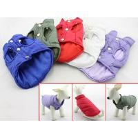 Wholesale Comfortable PVC Medium Large Big Dog Winter Vests Dog Coats Clothes Lightweight from china suppliers