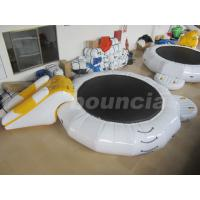 Wholesale Inflatable Floating Water Trampoline Combo For Water Park Use from china suppliers