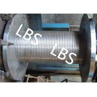 Wholesale Custom Lebus Groove Wire Rope Drum With High Speed Rope Wheel from china suppliers