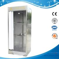 Wholesale SH786B-Emergency shower & eyewash booth,stainless steel with water/waste tank and curtain from china suppliers