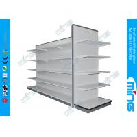 Wholesale Wall Metal Retail Display Shelves Two Sided / Wire Mesh Display Shelf from china suppliers