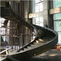 Wholesale Large Pre Engineering Steel Spiral Staircase Solid I Beam Shock Resistance from china suppliers