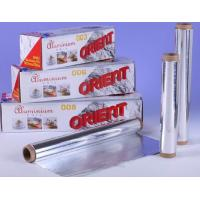 Quality High Temperature Sterilization Aluminium Foil Roll For Food Barbeque / Baking for sale