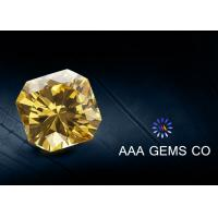 Wholesale VVS1 Classic Created Fancy Moissanite 3 Carat In Yellow Color from china suppliers