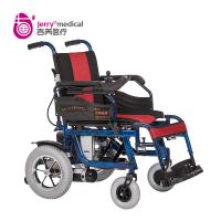 Wholesale Automatic Outdoor Power Wheelchair Aluminum Alloy Material With Electromagnetic Brake from china suppliers