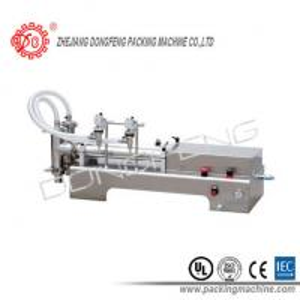 Wholesale Edible Oil / Lotion / 2 nozzles Liquid Filling Machine Vacuum Volumetric 5 - 20 Pcs / Min from china suppliers
