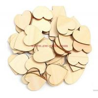 Wholesale Wooden Heart Kids Birthday Party Supplies Diy Scrapbook Craft Wedding Decoration Valentine'S Day from china suppliers