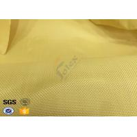 Wholesale Fire Resistant Bulletproof Plain Kevlar Aramid Fabric For Aerospace , Chemical from china suppliers