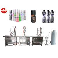 Wholesale Body Spray Aerosol Filling Equipments from china suppliers