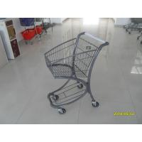 Wholesale Free Duty Shop 40L Supermarket Shopping Trolley , Airport Shopping Cart from china suppliers