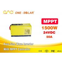 Wholesale DC AC 24v Power MPPT Solar Inverter 110v To 220v 1500w Voltage Transformer from china suppliers