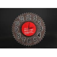 Wholesale Modern Art Wall Clock / Decorative Round Wall Clocks With The Sawtooth Exterior from china suppliers