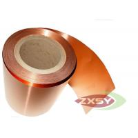 Wholesale Adhesive Rolled Insulated Professional Copper Foil Roll Polished from china suppliers