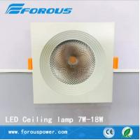 Wholesale Commercial lighting LED deep anti-dazzle canister light 10 w - 18 w from china suppliers