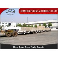 Wholesale 100 - 250 Tons Heavy Equipment Lowboy Trailer , Multi Axles Low Bed Trailer from china suppliers