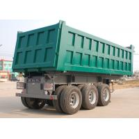 Buy cheap 3 Axle Dump Truck Trailer 26M3 - 30M3 45 Ton Color Customised For Mineral from wholesalers