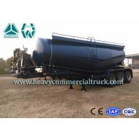 Wholesale 30 Tons High Safety Bulk Cement Tank Semi Trailer 58000L Low Density from china suppliers