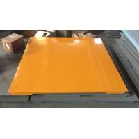 Wholesale Hot Galvanized Carbon Steel Floor Weighing Scales 1.5x1.5m 3t / 5t Single Deck from china suppliers