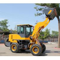 Wholesale front end loader of 2.5 ton industrial machinr mini wheel loader for sale from china suppliers