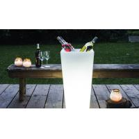 Wholesale Square Shape PE Made Glowing Outdoor Party Ice Bucket from china suppliers