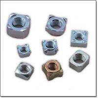 Wholesale Customize special size high quality zinc plated carton steel or stainless steel Hex welding nut auto fastener from china suppliers