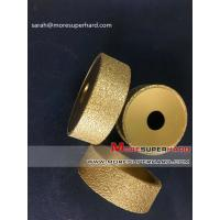 Wholesale Vacuum brazed diamond grinding wheel for stone products Sarah@moresuperhard.com from china suppliers