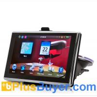"Wholesale Navitron - 5"" HD Touchscreen SiRF IV GPS Navigator (Bluetooth, Win CE) from china suppliers"