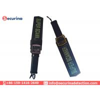 Wholesale Manual Metal Hand Held Security Detector 20cm Area With Sound / Vibration Alarming from china suppliers