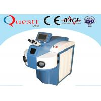 Wholesale Water Chiller YAG Laser Gold Laser Welding Machine 200 / 300 / 400W With 10X Microscope from china suppliers