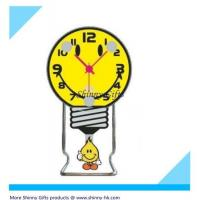 Wholesale cute desk clock with bulb shape  from china suppliers