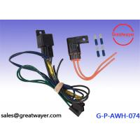 Wholesale GXL Cable 16AWG Motorcycle Wiring Harness 5 Pin Relay 250 Male Terminal from china suppliers