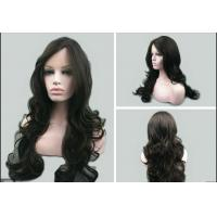 Wholesale Ladies Natural Looking Human Hair Wigs Loose Wave Natural Hairline from china suppliers