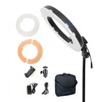China 12 LED Ring Light 35W 5500K Dimmable with Stand, Plastic Color Filter, Carrying Case for Camera,Smartphone,YouTube on sale