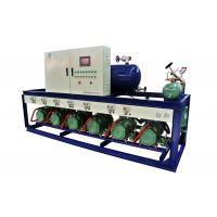 Wholesale Bitzer R404a refrigeration multi compressor racks for -18℃ chicken cold storage from china suppliers