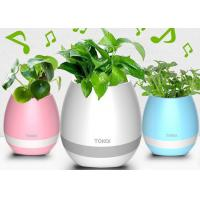 Quality Bluetooth Speaker with LED BT Intelligent Smart Touch Music Flowerpot Plant Piano Playing K3 Wireless Singing Flowerpot for sale