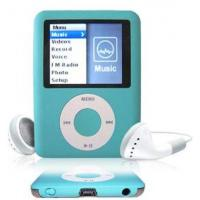 Wholesale Fashion Blue OLED Screen MP3 Player  Supports 25 languages 1GB 3GB 5GB AMV FM TF Card from china suppliers